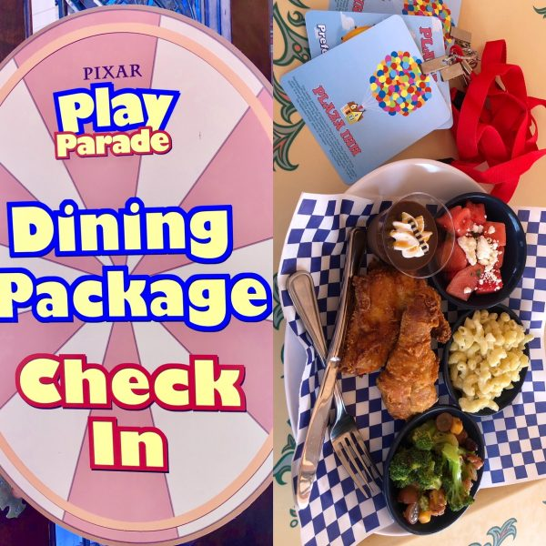 Pixar Play Parade Dining Package