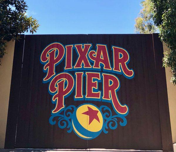 Pixar Fest billboard