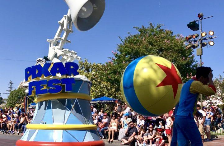 The Best of Pixar Fest in Disneyland