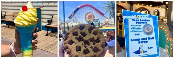 Disney California Adventure Pixar Fest treats