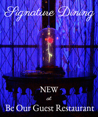 Top Four Signature Changes at Be Our Guest Restaurant