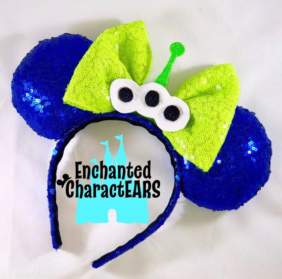 Toy Story Alien Ear Headband