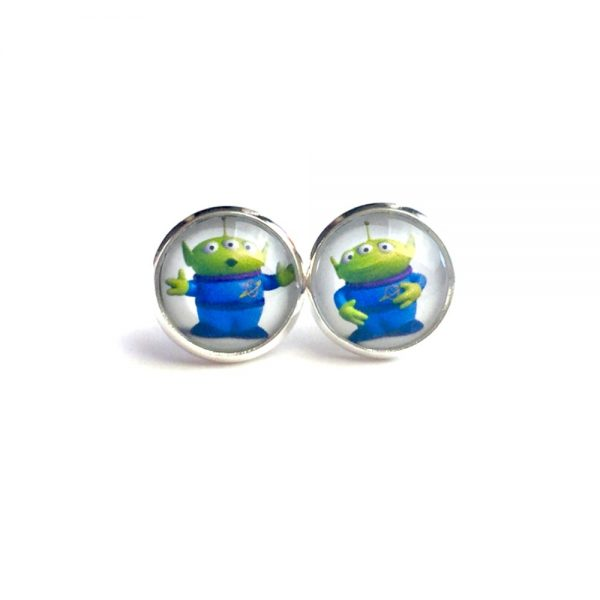 Toy Story Alien Earrings