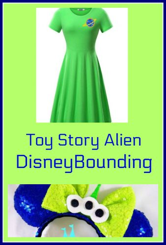 How to DisneyBound As a Toy Story Alien