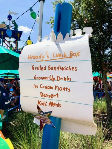 Top Must Eats at Woody's Lunch Box in Toy Story Land