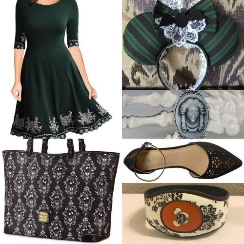 How to DisneyBound as a Haunted Mansion Maid