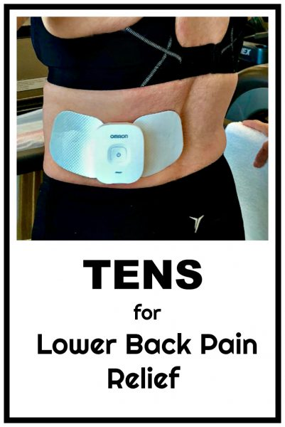 How to use TENS (transcutaneous nerve stimulation) to treat lower back pain; portable, convenient, and comfortable pain relief without the use of medications or opioids. #ad #physicaltherapy #lowbackpain #lowerbackpain