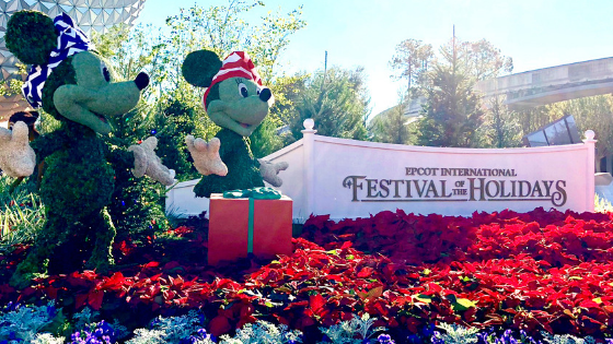 Epcot International Festival of the Holidays Highlights