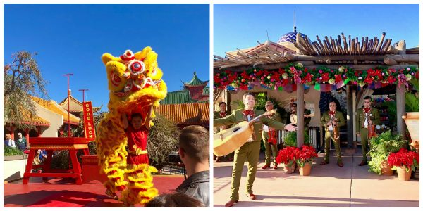 Epcot Holiday Entertainers