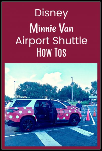 How to Use Disney's Minnie Van Airport Shuttle
