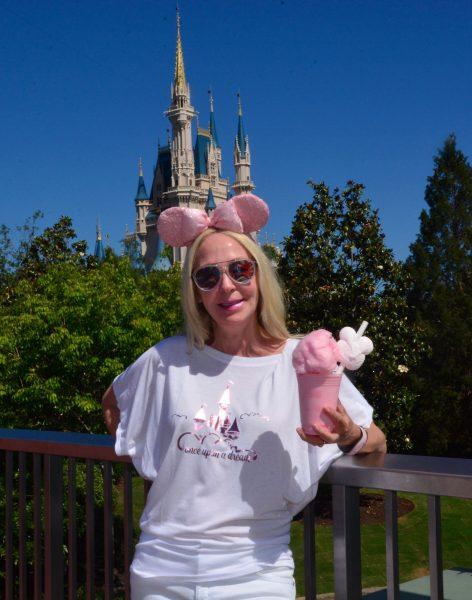 Walt Disney World Millenial Pink Milkshake