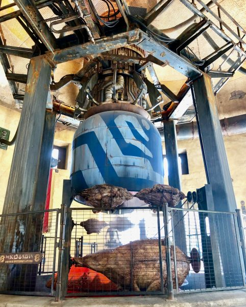 Star Wars: Galaxy's Edge Ronto Roasters in Disneyland