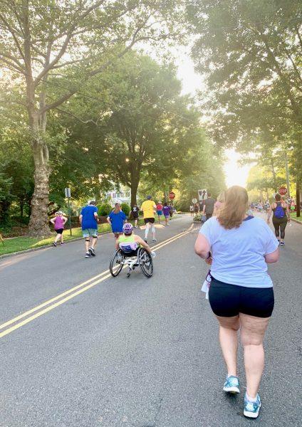 Downtown Westfield 5K runners