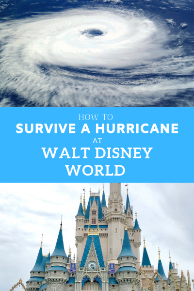 Worried about whether an impending hurricane will ruin your Walt Disney World vacation? Find out the How Tos. #hurricane #tropicalstorm #WaltDisneyWorld #Disney