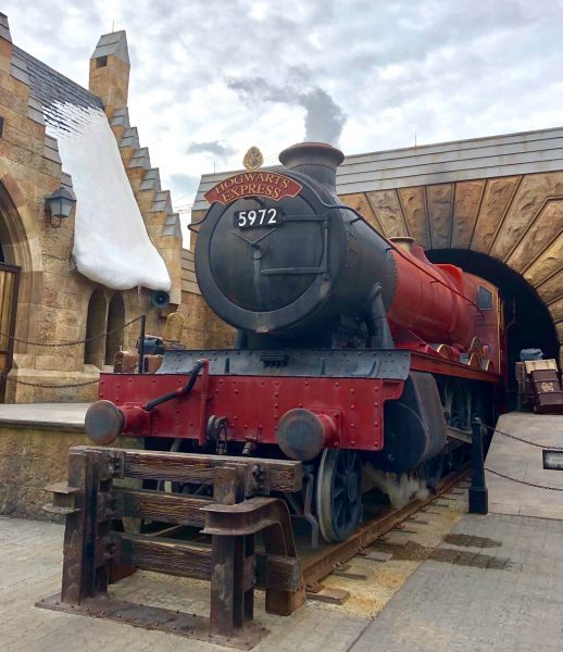 Top Family Travel Destinations - Hogwart's Express