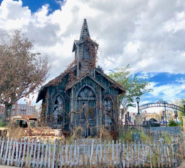 Universal Orlando Haunted Church