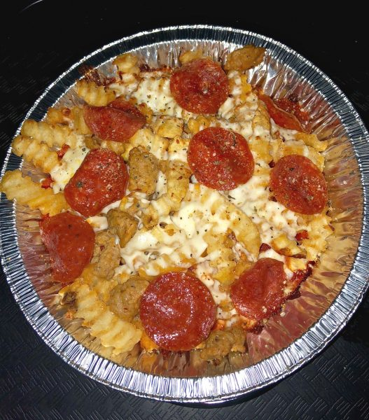 Halloween Horror Nights Famous Pizza Fries