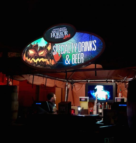 Halloween Horror Nights at Universal Orlando Specialty Food & Drinks