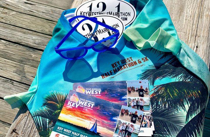 Key West Half Marathon Race Shirt 2020
