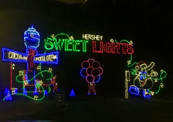 Hersheypark Holiday Sweet Lights Review