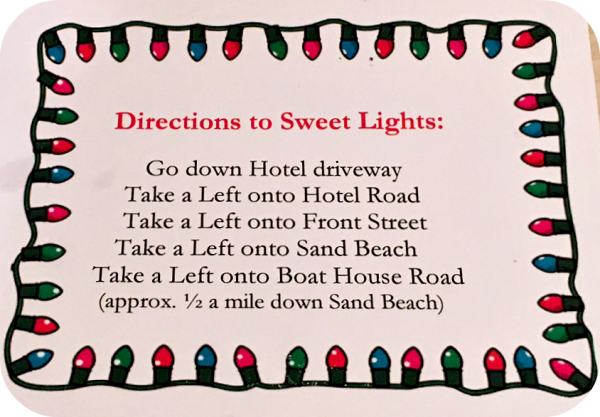Hersheypark Sweet Lights directions