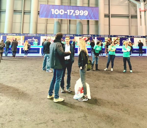 New York City Marathon Bib Pickup