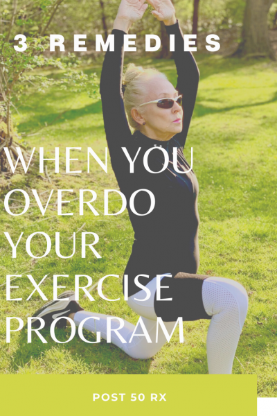 Three Remedies for When You Overdo Your Exercise Routine | Coronavirus Survival Manual #overuseinjuries #physicaltherapy #TopPTTips #compressionwraps #coronavirussurvivalmanual